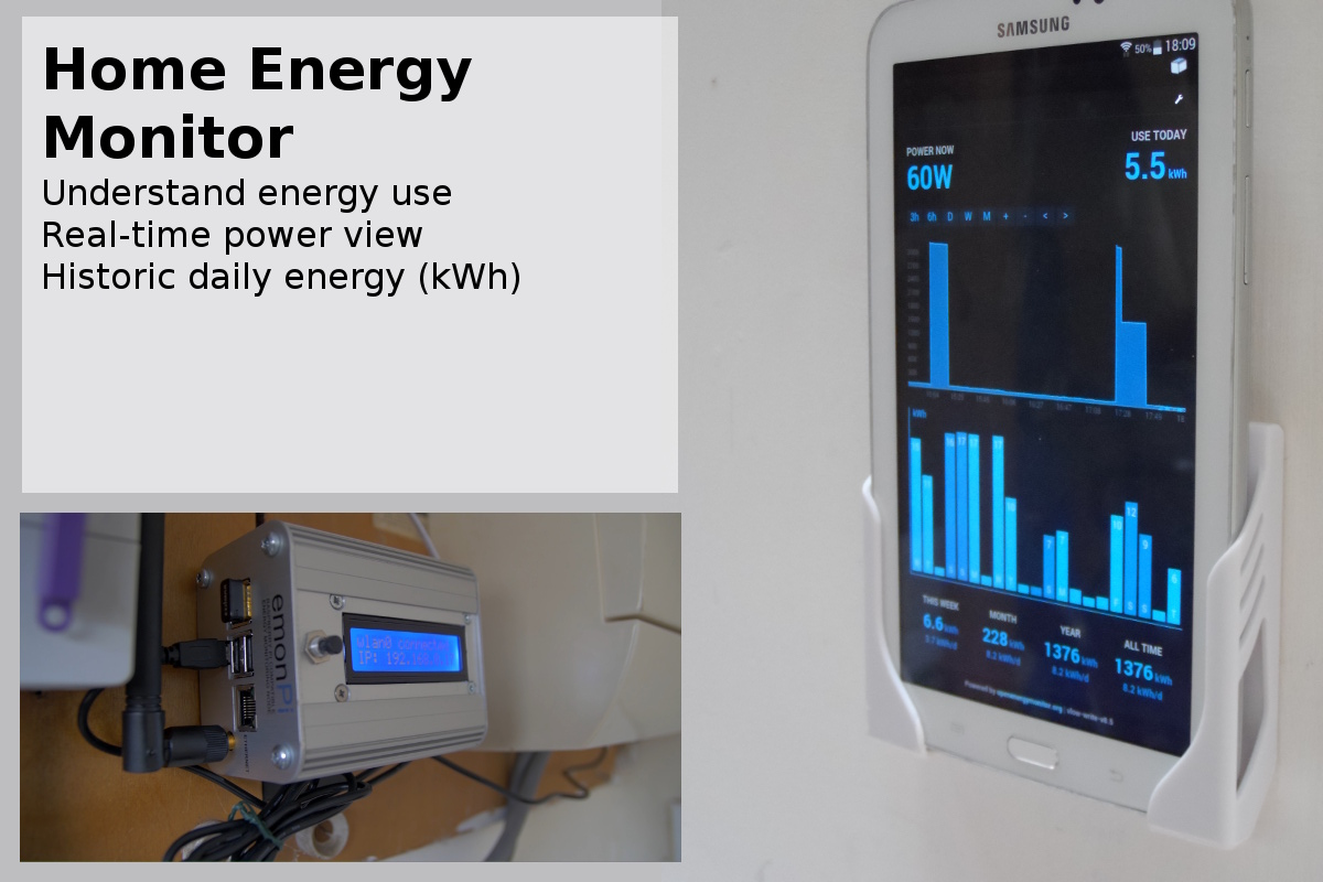 Energy Monitoring Unit : Home energy guide openenergymonitor