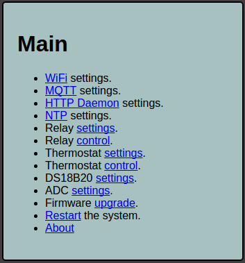 WiFi MQTT Control Relay Thermostat - Guide | OpenEnergyMonitor