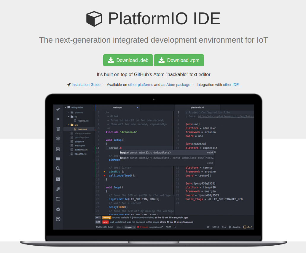 Download PlatfomIO